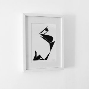 ballon femme - Oeuvre originale