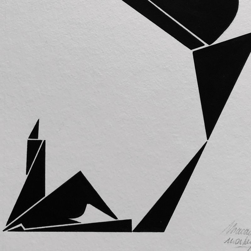 Balloon-woman-original-art-graffiti-minimalist-macadam-monkey