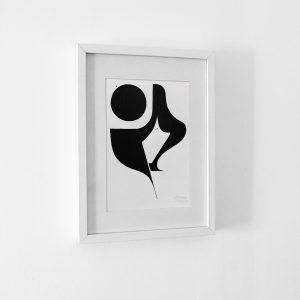 Femme lune - Oeuvre originale